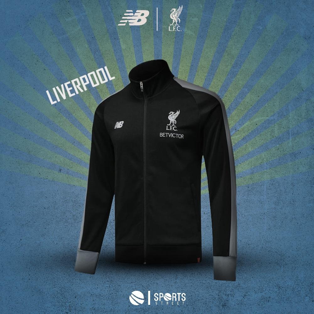 ab1dc1606735 ... Liverpool Black Grey jacket 18 19 ...