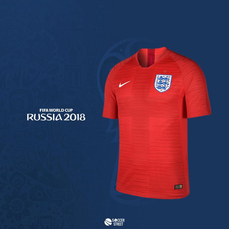 0e1805ef ... Nike England WC 2018 Away Soccer Jersey ...