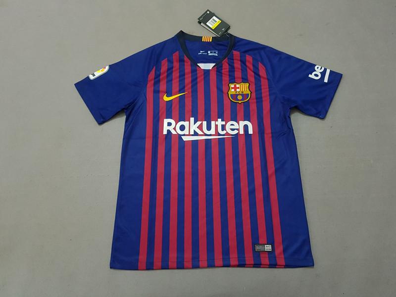 4bd67608dbe ... Barcelona 18 19 Home Soccer Jersey ...