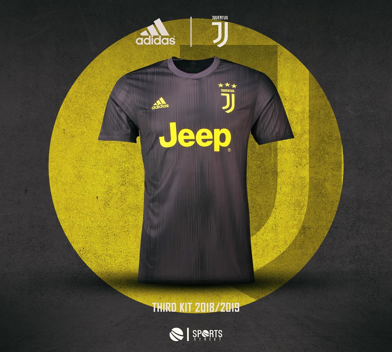 e7f4e3efd Juventus 18 19 Third Soccer Jersey ...