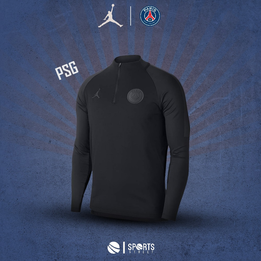 55c7e771951be5 ... PSG Jordan Black Training top 18 19 ...