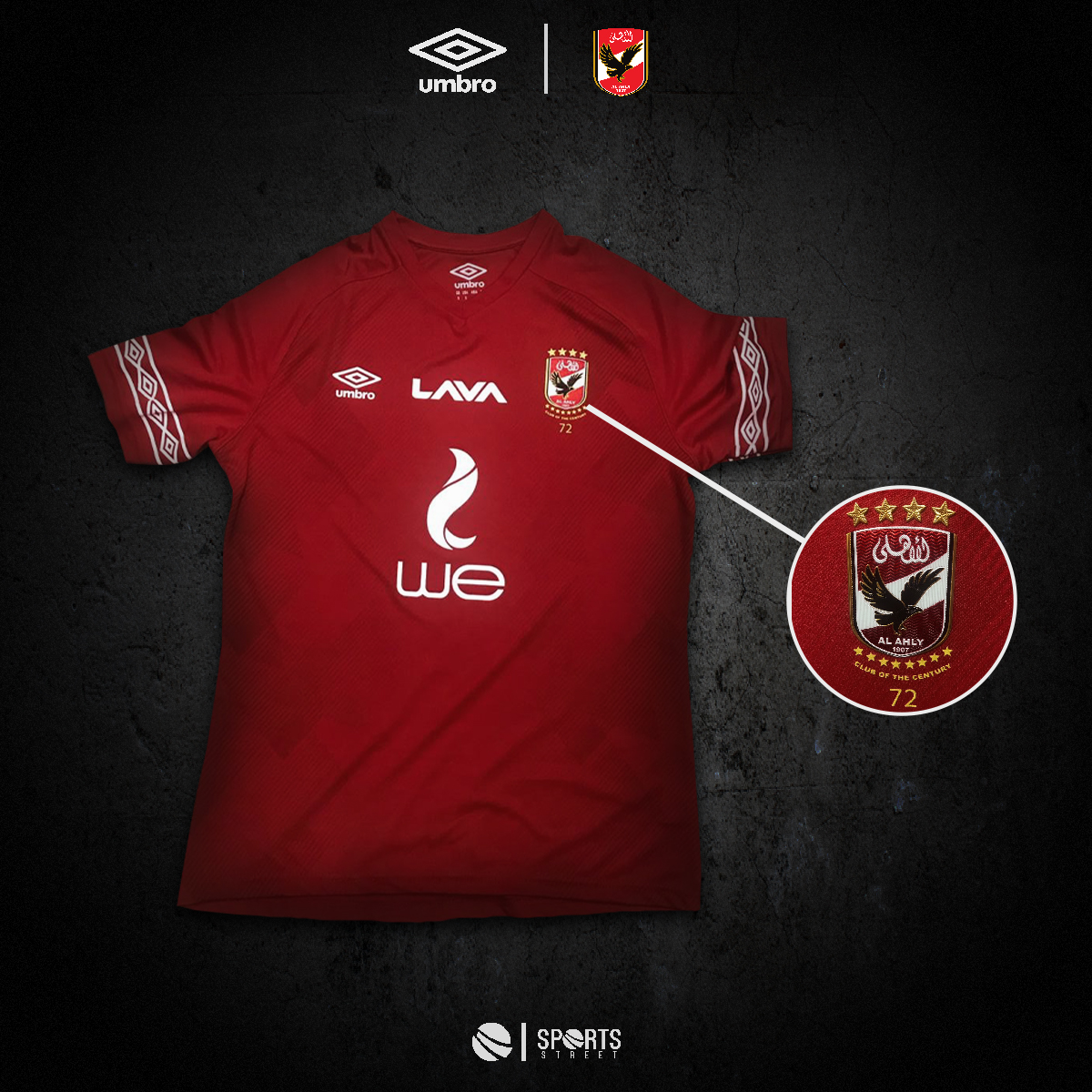 9f22395702c ... AL Ahly SC Home Jersey Fans Edition ...