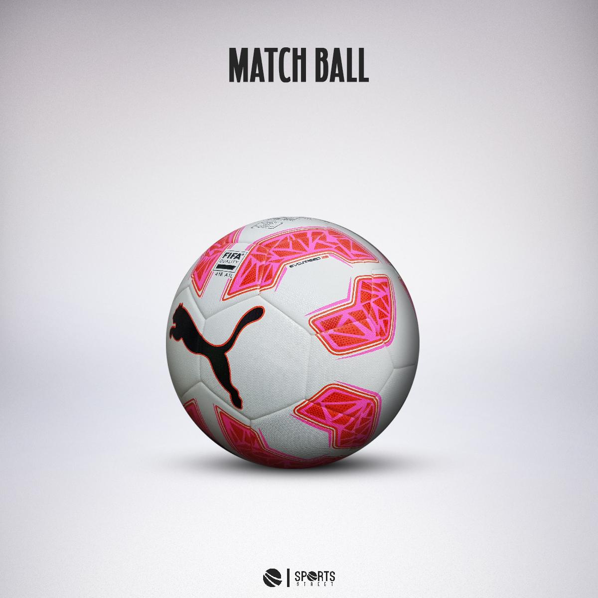 8592c99e60cc ... Puma EvoSpeed 2.5 Match Ball White Pink ...
