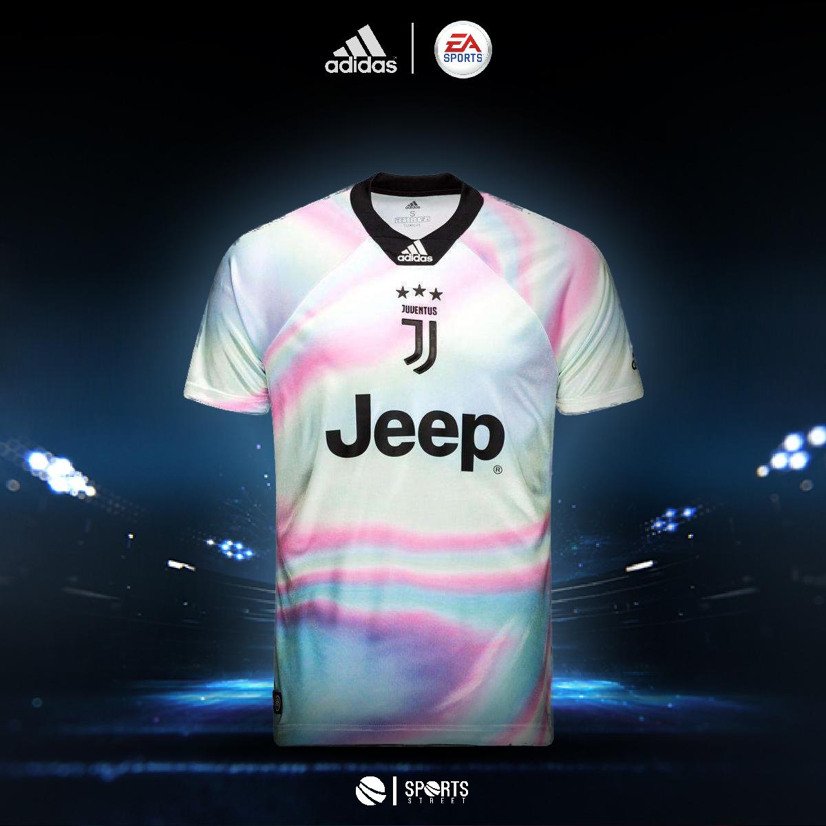 866a74dd7 Juventus EA Sports Jersey 18/19