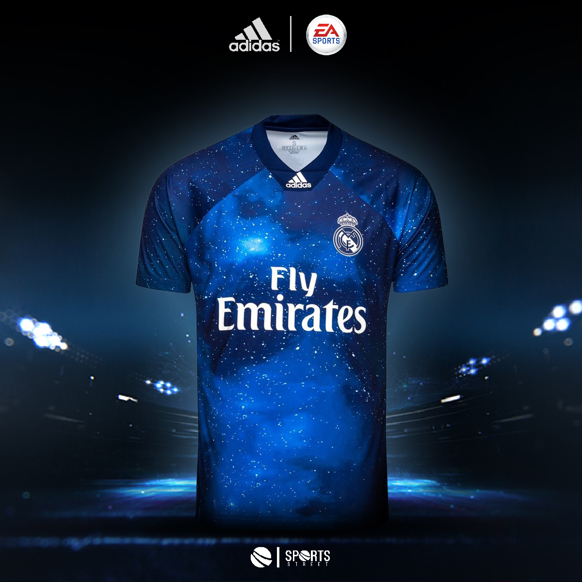 e9247a09404 ... Real Madrid EA Sports Jersey 18 19 ...